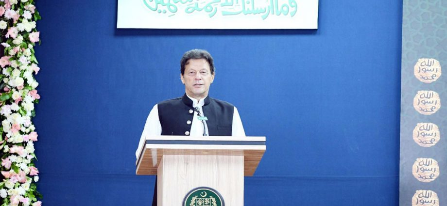 PM announces establishment of Rehmatul-lil-Aalameen Authority to preach love & humanity