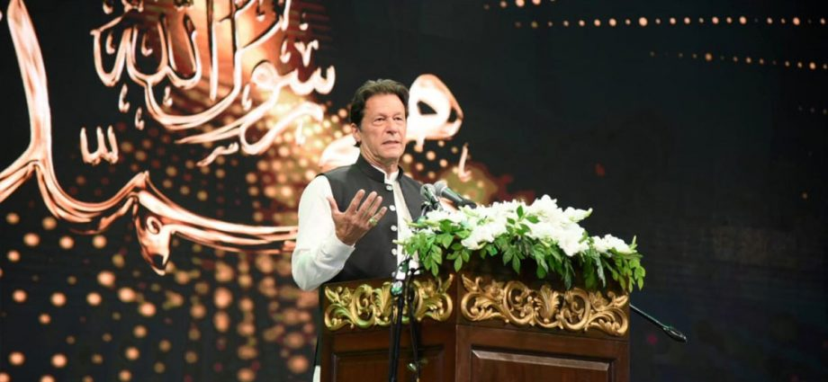 PM stresses need of following principles set by Holy Prophet (PBUH)
